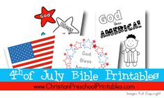 Fourth of July Printable Collection from Crafty Classroom