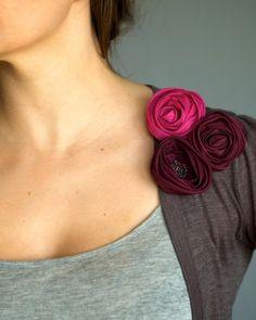 Silk bouquet roses