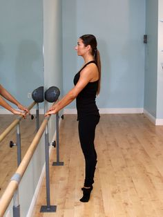 Calf, Thigh, and Butt Strengthener #workout http://www.ivillage.com/jessica-smith-xtend-barre-workout/4-a-524886#