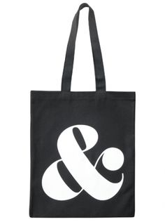 Ampersand - Black | Shop | Alphabet Bags