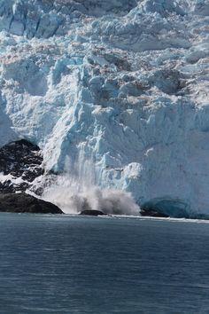 Calving Glacier, Seward, Alaska