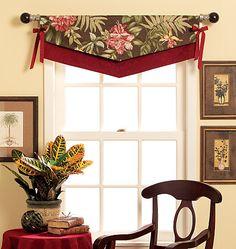 easy window valance, valanc sew, hous idea, butterick pattern, decor project, design idea, valances, curtain, sewing patterns