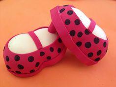 Rutty`s creations: Tutorial zapatos de flamenca para fofucha