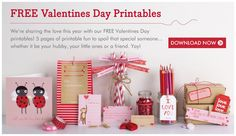 5 Pages of Free Valentine's Day Printables