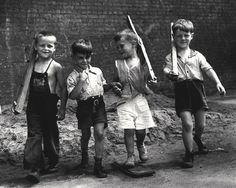 Marching Boys 1943 Photo: Arthur Leipzig