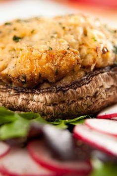 artichok, stuffed mushrooms crab, portobello recip, mushroom recipes, appetizer recipes