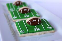 3D Football Cookies