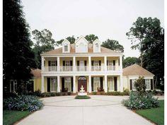 NeoClassical Plantation House plan