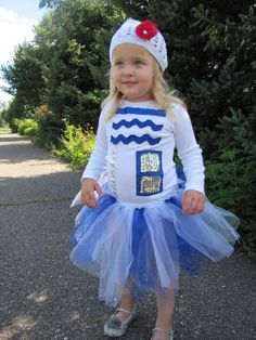 Adorable R2D2 Inspired Droid Halloween Tutu Costume for Newborn through Toddler Girls on Etsy, $48.00