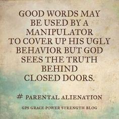 GPS-Grace Power Strength: The Non-Compassionate Parent & Their Agenda Of Evil