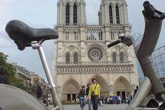 Notre Dame by Velib.
