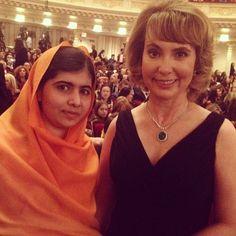 Two inspirational women.