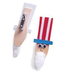 Uncle Sam pins~make barrettes too