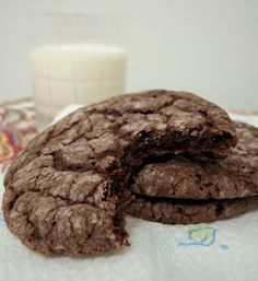 Nutella Gooey Butter Cookies - gooey butter cake in cookie form