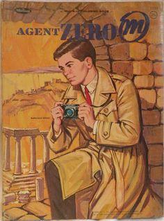 WHITMAN: 1964 Agent Zero M Coloring Book #Vintage #Toys