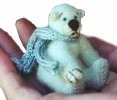 Icicle Mohair Bear Crochet Pattern