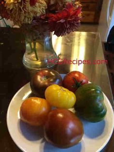 Heirloom Tomato Salad Recipe Phase 2 and 3. #hcg #hcgdiet  Another great recipe by Tammy Skye