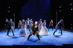 The cast of A Midsummer Night's Dream, 2009. #calshakes40th