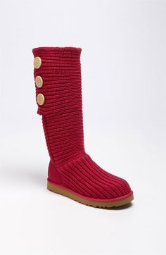 UGG Australia Cardy Classic Knit Boot (Women) (Nordstrom Exclusive) | Nordstrom