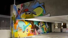 Abandoned Detroit Parking Garage Turned Into Street Art Gallery - Neatorama