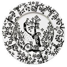 Iittala Small Taika Plate in Black