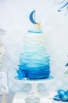 Little Big Company | The Blog: Sailboat Dessert Table for A Christening by MY SWEET CELEBRATION