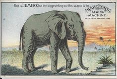 FOR YOUR CONSIDERATION, HERE IS A 1800s HARTFORD SEWING MACHINE COMPANY TRADE CARD FROM HARTFORD CONNECTICUT JUMBO , BUT THE BIGGEST THING OUT OF THE SEASON FAIR CONDITION WITH CREASE.