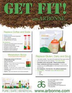 Get Fit! Message me to get your Arbonne protein mix! katrinahummer@yahoo.com