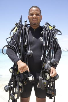 Scuba diving with the best instructors #sandalsmontegobay