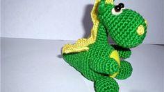 little dragon, free pattern in Russian