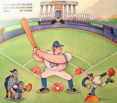Kansas City Royals Score Card 1983 by Stephen Carpenter.