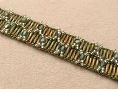 Double Cross bracelet w tutorial