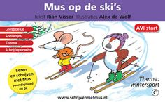 Mus en Muis gaan op wintersport. Muis kan al goed skiën, maar Mus doet het voor het eerst. In deze gratis les kunt u het eerste deel van het verhaal lezen. De complete versie is te verkrijgen op www.books2download.nl.