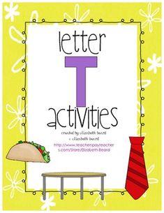Letter T Activities: Preschool and Kindergarten