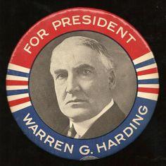 Warren G. Harding - Republican 1920