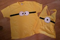 Minion shirts - Halloween costume???