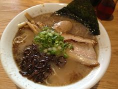 "Global Nation editor Monica Campbell's pick: ""Great broth/egg/roasted pork, not too heavy."""