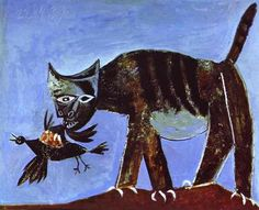 Wounded Bird and Cat, 1939 | Pablo Picasso