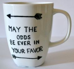 The Hunger Games | Community Post: 13 Awesome Literary Mugs That Will Make Any Word Nerd's Morning Brighter
