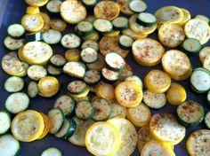 Easy Veggies: Roasted Zucchini and Yellow Squash   Lazeo Paleo