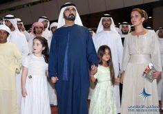 Mohammed RSM, Al Jalila MRM y Haya bint Al Hussein, 2013