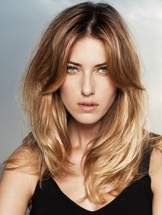 Light Brown to Blonde Ombre Hair