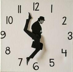 DIY Silly Walk Clock: Tutorial: How to make a Monty Python Silly Walks clock