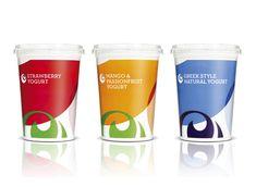 Ocado Yogurt Packaging
