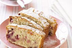 Rasperry & Coconut loaf - So making this for mums birthday!