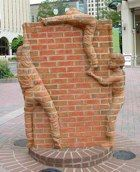 One side....  Brad Spencer, Sculptor
