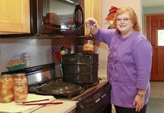 Longtime food preserver shares secrets of home-canned pie filling.  Recipes for blueberry, raspberry, apple, peach pie fillings using ClearJel.