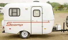 Vintage Scamp 13' travel trailer