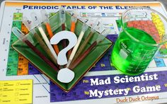 Mad Scientist Mystery Game Snack.