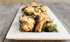 Hungry Couple: Cheese Stuffed Brussels Sprouts